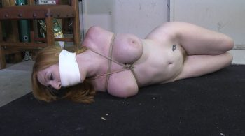 Blackmailed Baby Sitter-They had me naked and hogtied with my panties stuffed in my mouth!