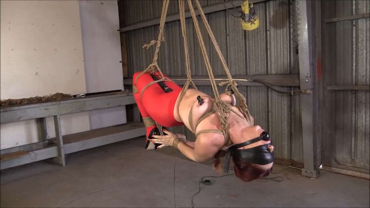 Hogtied Hung And Forced To Cummmm