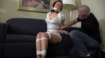 It is going to take much more than a mouth full of panties and some tight rope to make me behave