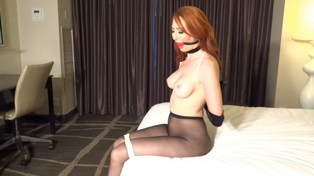Kendra James Bound On The Bed