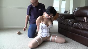 Nothing a tight tying and a good gagging can't take care of