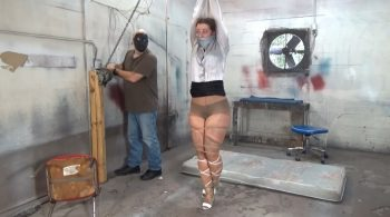 REDHEAD BANKER MERCILESSLY BOUND, BEATEN & SHATTERED