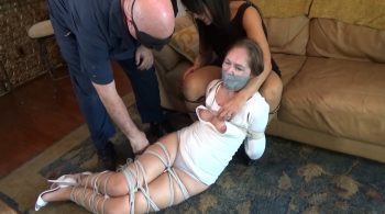 REVERSE PRAYER GOAT ROPE AGONY FOR THE PRETTY BABYSITTER