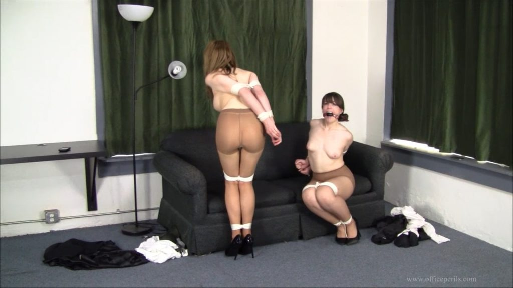 Angry Damsels Bound over and over again Montage HD