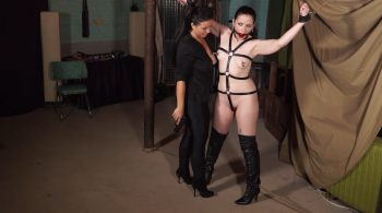 Famous fetish model trained, banged & stapped up by the pony girl trainer – Born to be Bound