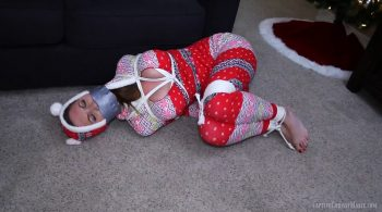 Hogtied for the Holidays – Captive Chrissy Marie