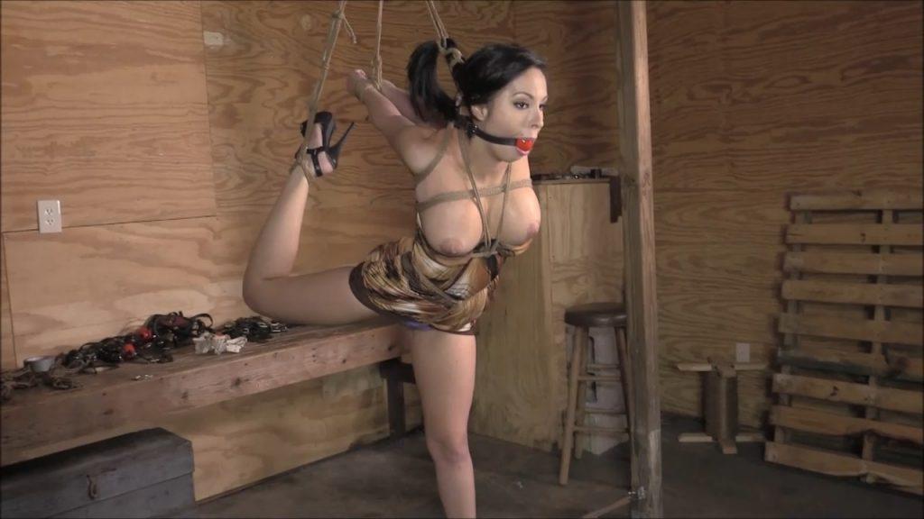Brendas Bound Bondage Addictions – Nice Little Ballerina Strappado