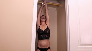 Shackled & Stretched – Captive Chrissy Marie