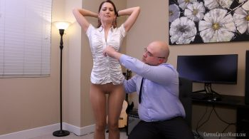 Spanked, Caned & Chained Pt. 1 – Captive Chrissy Marie