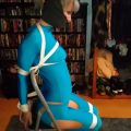 Trip Six Chairtied in Blue