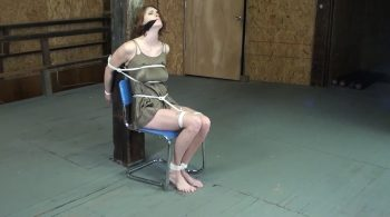 Violette Confined To The Chair Blazing Hot – Girls In A Bind