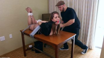 Bitch Boss Bound To Her Desk – Captive Chrissy Marie