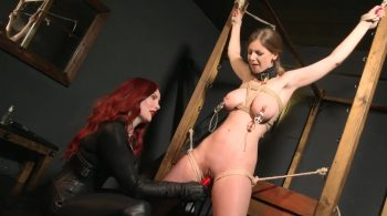 Breaking in Slavegirl Stella… – Bound Honeys Exclusive