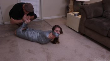 Hellishly Hogtied Mummification – Captive Chrissy Marie
