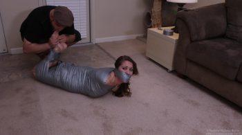 Hellishly Hogtied Mummification – Captive Chrissy Marie