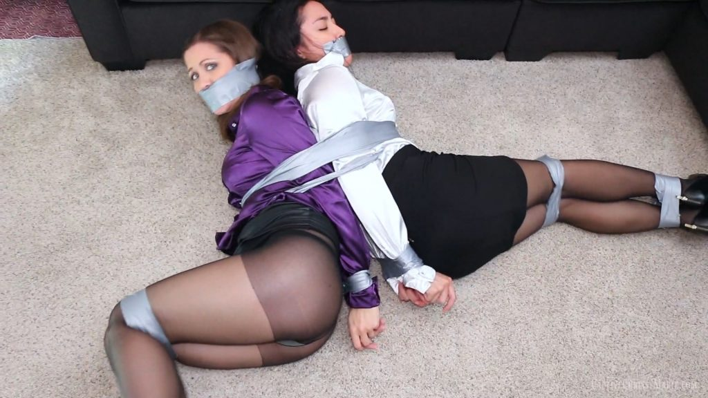 Sexy Agents in Distress! – Captive Chrissy Marie