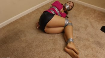 The Peeping Tom Taped Me Up! – Captive Chrissy Marie