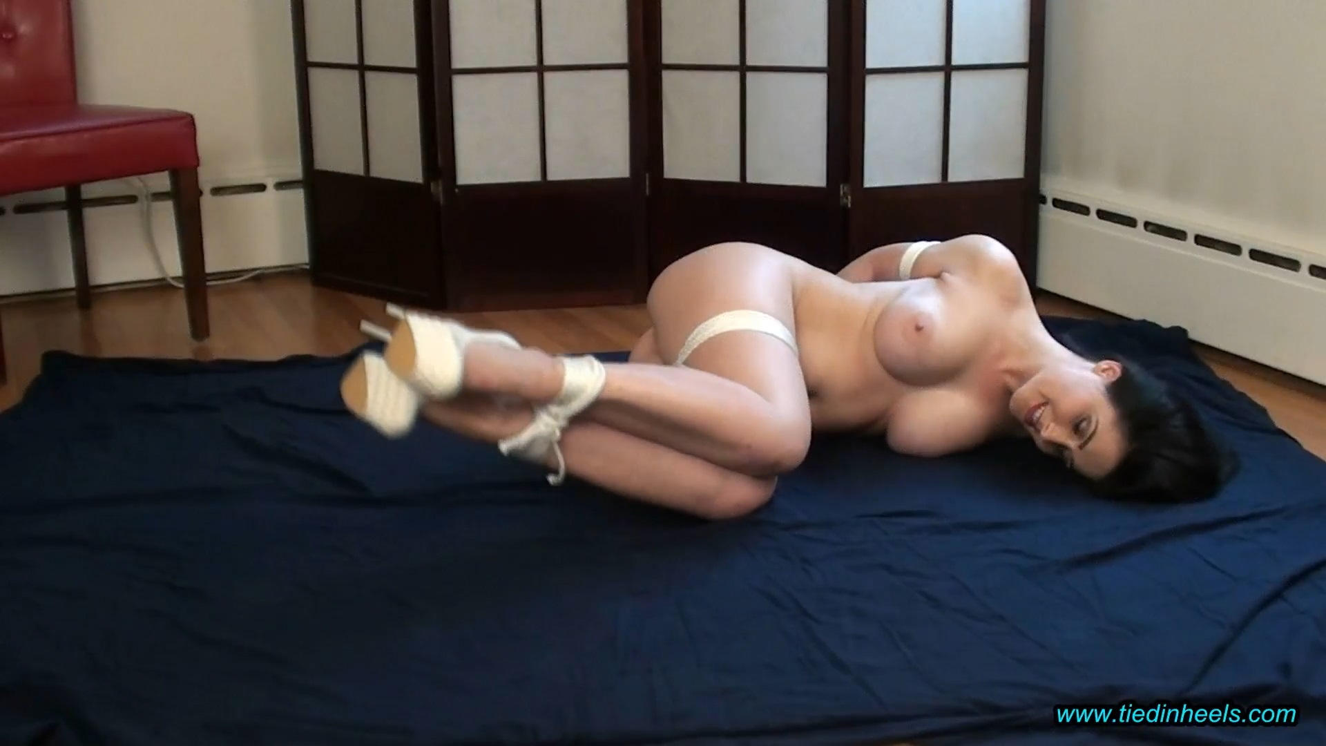 Tilly McReese_Tied Naked in Heels