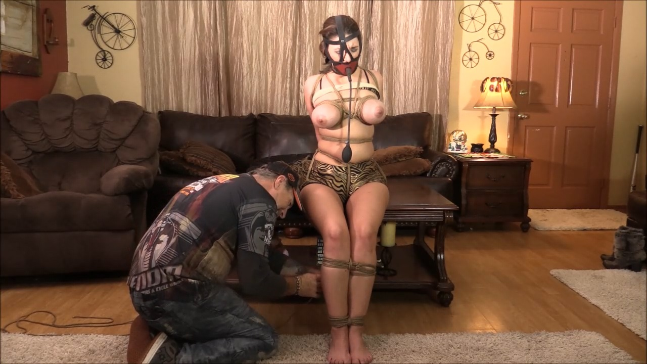 Her First Real Deal Experience Hogtied And Chicken Winged