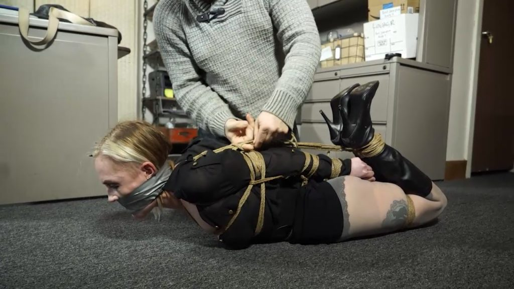 Office girl tormented by a couple – Amanda Marie – Born to be Bound