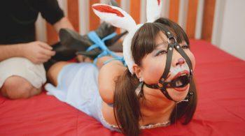 RS-147 Movie – Bunny Rabbit Gets Hogtied – Mina