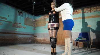 She mummified the town tease – Born to be Bound