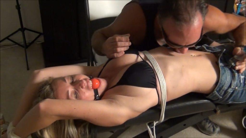 "The ""Tied"" Tequila Body Shot – Amanda Kent Bound"
