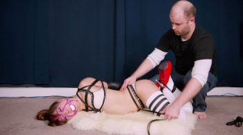 RS-182 Movie ina's Hogtie Training Continues – Mina