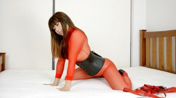 RS-197 Movie ed Sheer Bodystocking – Mina