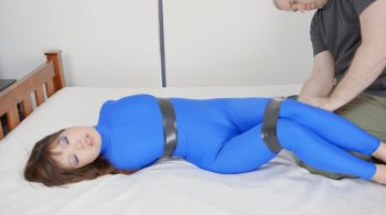 RS-210 Movie aped In A Blue Catsuit – Mina