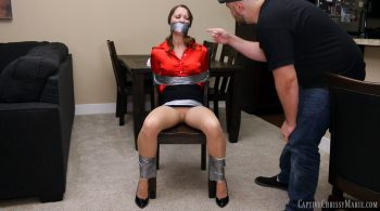 Taped Up Teacher – Captive Chrissy Marie