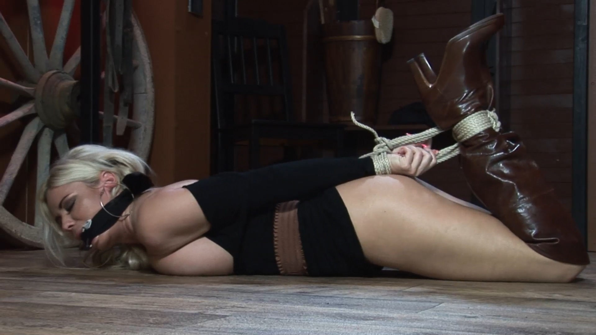 Hogtied and Humiliated!