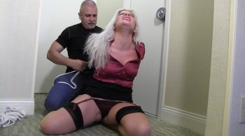 OBG06-Kept tied up and gagged tight so she could learn the error of her ways – Whitney Morgan – Girl Next Door Bondage
