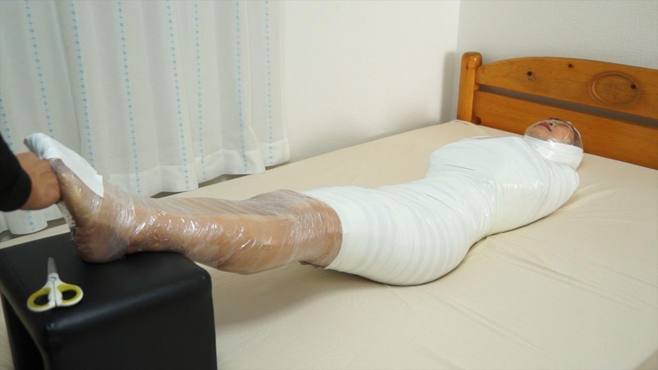 Mumification in bondagetures, hot sluty ladies