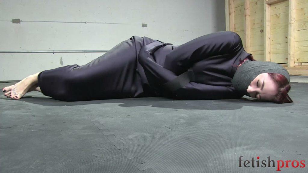 Hobble Straitjacket Escape – Krysta Kaos – Fetish Pros