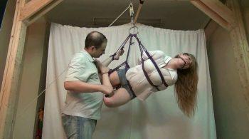 Sharon: She's Now His Bondage Toy – BONDAGE DAMSELS by RobertDeane