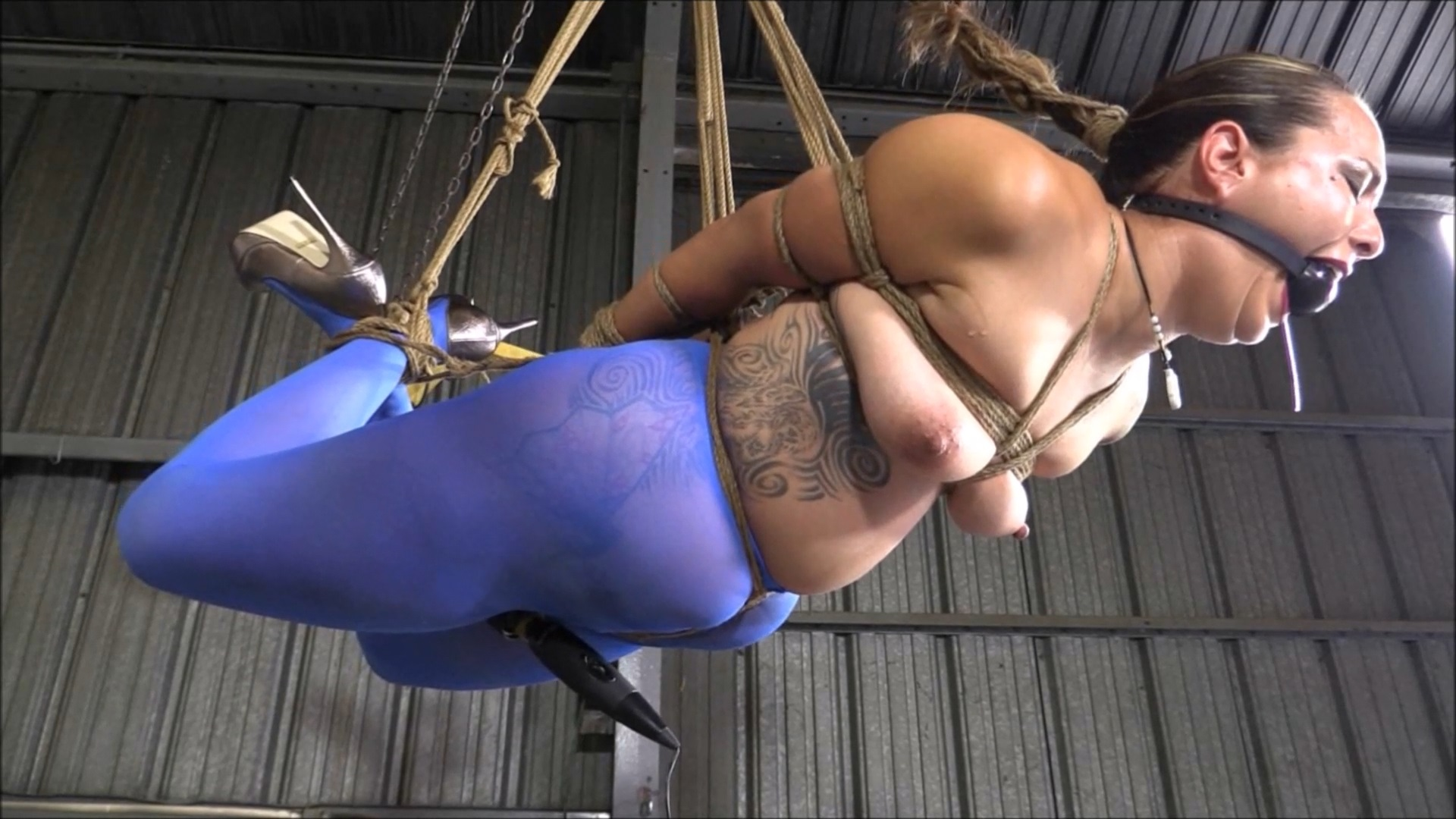 Hogtied And Hung Now In Ultra HD