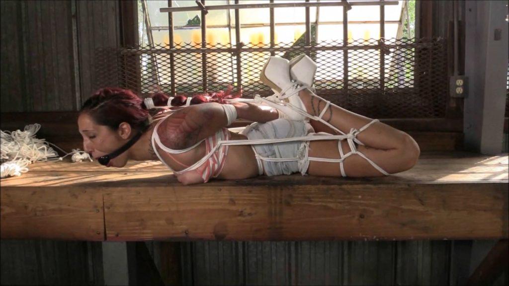 Stefania Meets The Warehouse Now In Ultra HD – Stefania Mafra – Brendas Bound Bondage Addictions