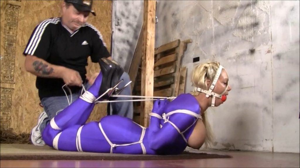 Another Blast From The Past In Summers First Ever Reverse Prayer Hogtie – Summer Monroe – Brendas Bound Bondage Addictions