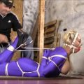 Another Blast From The Past In Summers First Ever Reverse Prayer Hogtie