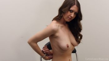 Cuffed, Stripped & Booked – Captive Chrissy Marie
