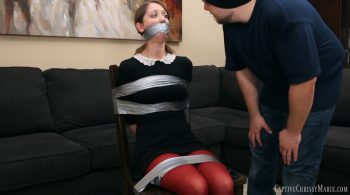 Schoolgirl Detective In Distress – Captive Chrissy Marie