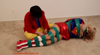 Supergirl Subdued! starring Jamie Knotts – Cinched and Secured