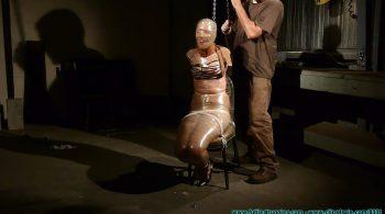 Rachel's Mummified Chair Suspension – Part 2 – Futile Struggles