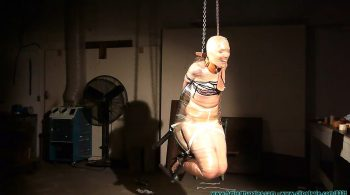 Rachel's Mummified Chair Suspension – Part 3 – Futile Struggles