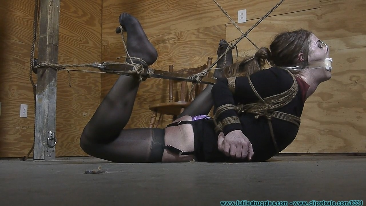 Terra S Legs Spread Hogtie Part 2 Futile Struggles Bondage Guru Net