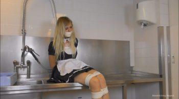 Julie Vega – French Maid Ambushed – Restricting Ropes