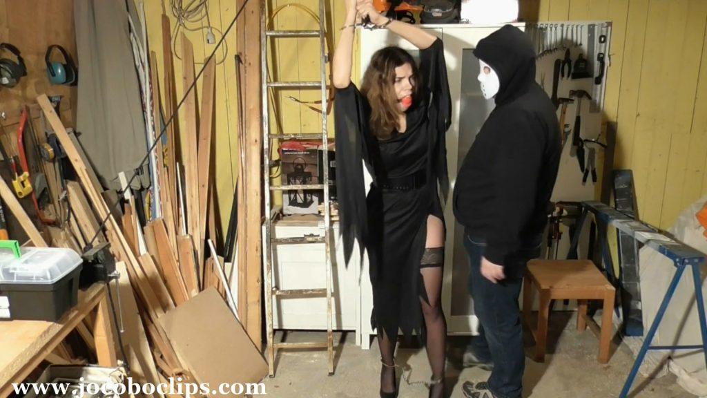 Halloween Nightmare – Standard – Juliette Captured And In Distress [JoCoBoClips]
