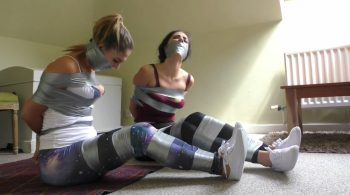 Borderland Bound – Gina & Ella-Mai in: It Was The Crimson Cobra! He Had Us Gagged & Bound Up At That Old House All Day! (Full Adventure)