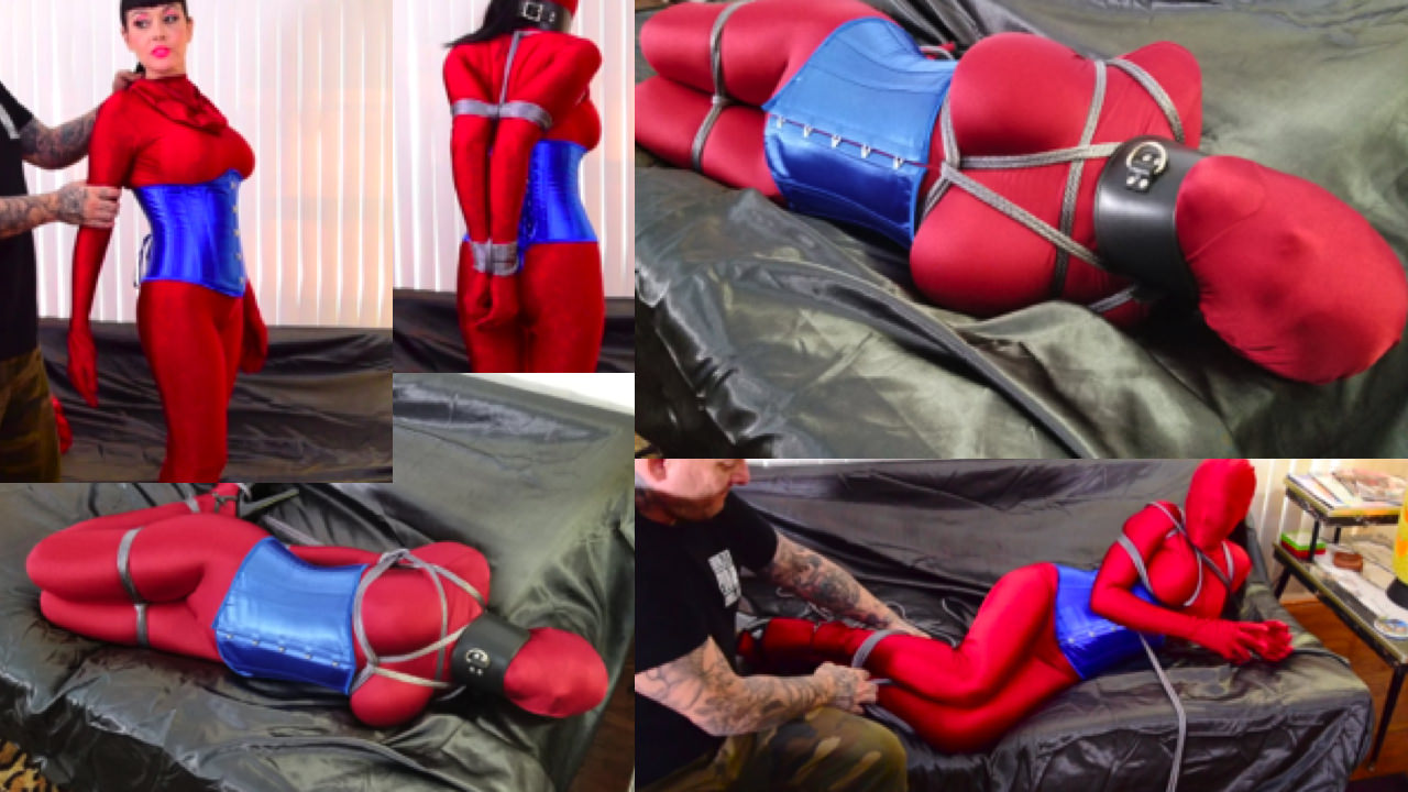 Luna Dawn_Living Doll Tied Up Tight Part_1